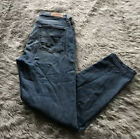 7FAM Luxe Vintage Med Wash Distressed Button Fly High Waist Josefina Jeans 28