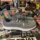 NIKE DOWNSHIFTER 9 RUNNING SHOES GRAY SILVER AQ7486 004 WOMENS Sz 9 Mens 75