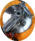 Ducati Single Scrambler 350 125 250 450 Bevel WIDE CASE REAR Brake Plate DRUM