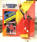 1992 Michael Jordan Kenner Starting Lineup Warm-Up With Poster & Card 67946