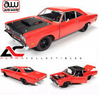 AUTOWORLD AMM1046 118 1969 PLYMOUTH ROAD RUNNER RED
