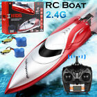 H120 POOL TOYS 24G RC Boat Remote Control Racing Boats Toys with 2 Batteries US
