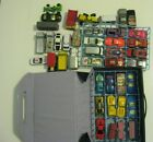 Vintage 1983 Matchbox Official Collectors Carry Case with cars lot trays