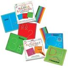 Wikki Stix Alphabet With Upper  Lowercase and Numbers  Counting Cards
