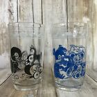 Vintage Set Of 2 Swanky Swigs Childs Drinking Glasses Horse Pig Bear Duck