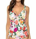Sunsets 77RG Rose Garden Forever Underwire Tankini Swim Top