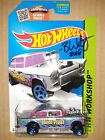 Hot Wheels 55 Chevy Bel Air Gasser Zamac Signed Brendon Vetuskey Super Nice Car