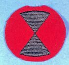 WW 1 7th Infantry Division Embroidered on Felt Excellent Cond 3