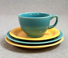 Lot of 4 Vintage ( Fiesta ) Carnival Oats Cup, Saucer & Plates