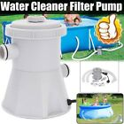 Electric Swimming Pool Filter Pump Water Cleaning System Fit Above Ground Pools