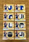 STEPHEN MCGEE AUTO ROOKIE JERSEY AUTOGRAPH LOT OF 8 UD EXQUISITE 99 225 COWBOY