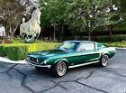 1968 Ford Mustang GT 1968 Ford Mustang Fastback No Reserve