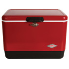 COOLER ICE CHEST BOX Portable Insulated Camp Outdoor Picnic Retro Red Coleman
