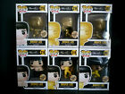 Funko Pop! Bruce Lee 2018 SDCC NYCC Bait Exclusive Set of 6