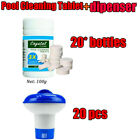20XSwimming Pool Floating Chemical Dispenser Floater Chlorine Tablet Cleaning