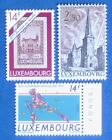 LUXEMBOURG Europe MNH 1992 Olympics Barecelone 1991 Stamp Day 1962 Church 541