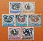 POLAND Europe 1956 CTO Melbourne Olympics Fencing Boxing Gymnastics Javelin 1100