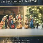 Nativity Set THE PROMISE OF CHRISTMAS by Robert Stanley 2011 Rustic