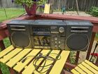 VINTAGE MAGNAVOX 4 BAND BOOMBOX TR 4883/17 MADE IN AUSTRIA Tested Works Nice