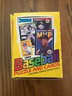 1989 Donruss Baseball Wax Box, 35 New Packs - 15 Cards + 3 Puzzle Pieces each