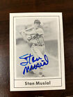 Stan Musial 1978 Grand Slam autographed card St. Louis Cardinals
