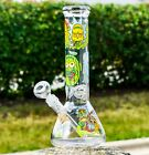 JULY 4TH SPECIAL 12 INSPIRED BEAKER BONG VERY THICK HEAVY GLASS WATER PIPEUSA