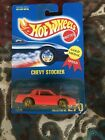 HOT WHEELS CHEVY STOCKER MONTE CARLO Gold Metal Super Rare Red Interior