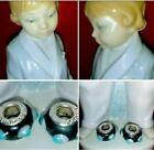 Mint LLADRO #4900 Retired Glossy Boy in Smoking Jacket & Pandora Lot