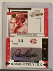 2004 Playoff Absolute Mem. Absolutely Ink #35 Dave Concepcion Auto Reds 50 50