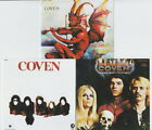 Coven 3CD SET (Witchcraft Destroys Minds Reaps Souls, S/T, Blood On The Snow)