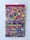 NEW LISA FRANK Sticker Book Over 600 Stickers 5 Sheets 2018