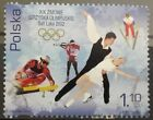 POLAND STAMPS 2Fi3802 Sc3620 Mi3952 Winter olympics in Salt Lake City2002used