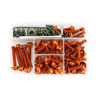 Alloy Complete Fairing Bolts Kit Fit For Honda VFR1200F CBR125R CBR150R Orange