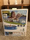 Intex 15ft x 33in Easy Set Inflatable Pool with 530 GPH Filter Pump NEW IN HAND