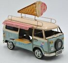 Fast Food Ice Cream Truck 118 Scale Car Model Diecast Gift Toy Vehicle Adult