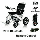 Foldable Lightweight Portable Electric Power Wheelchair With Remote Control 2020