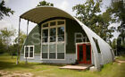 DuroSPAN Steel 45x72x18 Metal Quonset Homes DIY Building Kits Open Ends DiRECT
