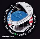 AUTHENTIC AB Emblem NASA DEMO 2 DM 2 SPACEX DRAGON ISS Mission SPACE PATCH USA