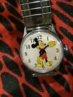 Vintage WATCH mens 1960s mickey mouse wind up very clean must see