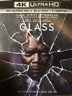 GLASS 4K ULTRA HD BLU RAY BEST BUY EXCLUSIVE CLEAR SLIPCOVER 3 ART CARDS