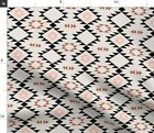 Navajo Aztec Triangles Tribal Native Ethnic Fabric Printed by Spoonflower BTY