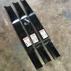Set Of 3 Oregon 97 109 Lawn Mower Blade Murray 40 New old Stock
