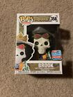 FUNKO POP ONE PIECE BROOK FUNKO FALL CONVENTION EXCLUSIVE LIMITED EDITION mint
