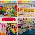 Create Basics Tie Dye Kit 93pc Party Tub Tulip Two Minute 41pc BIG BOX