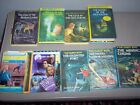 Mixed Lot of Nancy Drew  Hardy Boy Books 17 Hardcover  Softcover Some Vintage