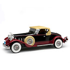 1930 PACKARD 734 BOATTAIL SPEEDSTER BLACK 118 DIECAST BY SIGNATURE MODELS 18138