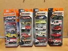 MATCHBOX 5 PACK FIRST RESPONDER EMT FIRE BRIGADE RESCUE DUTY EMT LOT OF 4 NEW