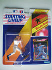 1992 Kenner Starting Lineup NOLAN RYAN Texas Rangers ~ Unopened with Poster