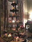 HOW TO BUILD Halloween Display Stand Dept 56 Lemax Christmas village houses