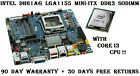 Intel DH61AG Mini ITX LGA1155 H61 DDR3 SO DIMM DVI HDMI eSATA DC PWR Motherboard